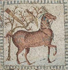 Mosaïque des chevaux de Carthage