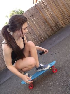 cute penny board<3