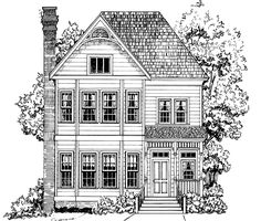 Eplans Victorian House Plan - Captivating Victorian Design - 1991 Square Feet and 3 Bedrooms from Eplans - House Plan Code HWEPL12685
