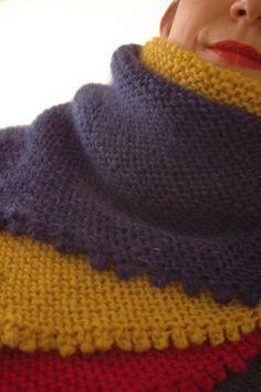 tricoter le point nid d abeille