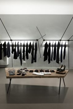 Black, black, black and more black - dream wardrobes - llot llov . ruby store #concept #store