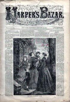 Harper's Bazar 1868