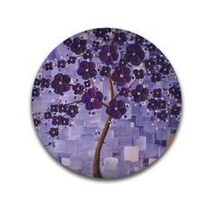A personal favorite from my Etsy shop https://www.etsy.com/listing/150339749/cherry-blossom-tree-painting-lavender