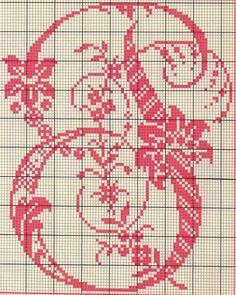 Alfabeto Antico Punto Croce (15)