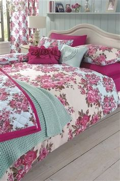 ACHICAMustHaves , just the heart ruffle cushion on the bed