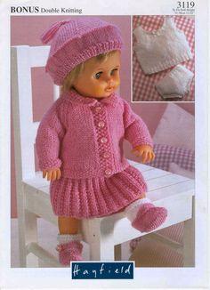 Baby Doll Knitting Pattern 1 of 4