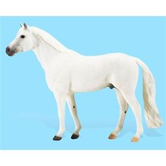 Breyer Snowman Horse Figurine - A big gray horse with an even bigger heart, Snowman rose from obscurity to become one of show jumping's most beloved heroes. Snowman Horse, Breyer Horses For Sale, Rags To Riches Stories, Show Jumping, Horse Farms, Equestrian, Cute, Gray Horse, Animals