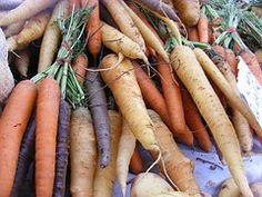 Carrots, Fruits, Veggies, Roots, Eating