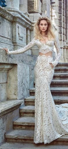 Galia Lahav Fall 2016 Ivory Tower Collection - Belle The Magazine