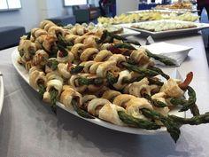asparagus pastries