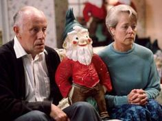 One Foot In The Grave - another brilliant comedy series. It featured the exploits of Victor Meldrew, played by Richard Wilson, and his long-suffering wife, Margaret, played by Annette Crosbie, in their battle against the trials of modern life.
