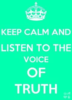 Listen to God!