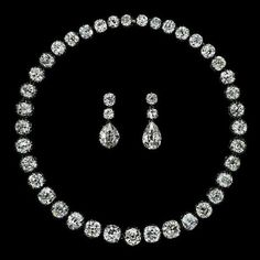 Instagram media by albionart.institute - The Princely House of Borghese Diamond Suite of Riviere and Earrings: 2nd Half of 19th Century (Earrings: Later): Diamond(appr.100-110ct) Albion Art Collection Tokyo #jewellery,#jewelry,#finejewellery, #finejewelry,#art,#bliss,#fineart, #antiquejewellery,#antiquejewelry, #artisan,#benchwork,#craftsman, #beauty,#music,#divinity,#divine, #etanity,#history,#heritage,#love, #diamond,#albionart