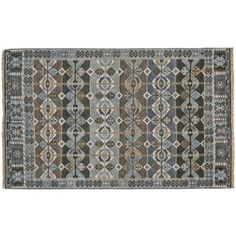 Check out this item at One Kings Lane! Winnie Rug, Steel