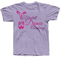 Shirt Printing Chatsworth - This Dance Academy shirt is printed as a 2 color design, Screen Printing Companies, Cheap Screen Printing, Printing Services, Dance Academy, Cheap Shirts, Printed Shirts, Color, Design, Printing On T Shirts