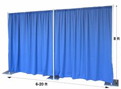 At most trade shows or exhibitions, businesses are given a specific area of space in which to set up a display. It is very common to see pipe and drape systems used to create a colorful booth for this display. Easy to set up and take down, pipe and drape systems are good investment for those businesses or organizations that are routinely involved in trade shows.http://www.onlineeei.com/drapes.cfm