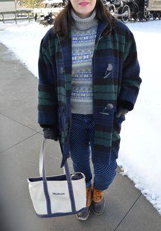 Fair Isle winter dressing, Land's End