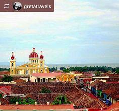 Follow @gretatravels: #beautiful colourful #Granada #Nicaragua #ILoveGranada #AmoGranada #Travel