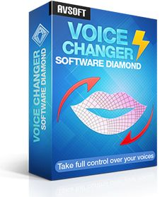 AV Voice Changer Software Diamond is an all-in-one program for all voice changing purposes, such as voice-over and voice dubbing for audio/video clips, narrations, presentations; change/mix/remove a voice in a song, in E-greeting cards, voice mails, etc; imitate the voice of any person, create non-human sounds, etc.