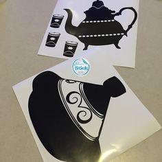 Derniers stick pour la soirée #stickers #deco #homedeco #kitchen #tajine #théière
