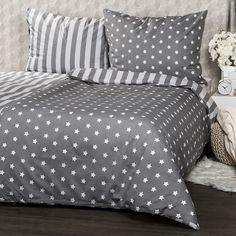 Bavlněné povlečení Stars šedá, 140 x 200 cm, 70 x 90 cm Comforters, Blanket, Home Decor, Diy, Creature Comforts, Quilts, Decoration Home, Room Decor, Bricolage