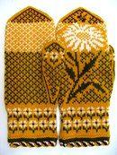 Рукавички с жаккардовым узором Knitting Ideas, Knitting Patterns, Knit Mittens, Nordic Style, Small Things, Charts, Knit Crochet, Gloves, Stitch