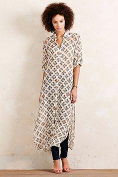 Anthropologie EU Joyelle Mosaic Dress