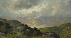 scottish countryside paintings | Scottish Landscape Painting