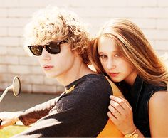 AHS  Favorite Couple Evan Peters and Taissa Farmiga