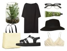 """gogo"" by portia-clementine ❤ liked on Polyvore featuring Aesop, The Row, Madewell and Topshop"