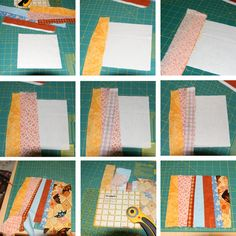 String Quilt Tutorial from happythings.typepad