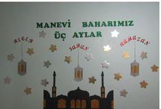 Class Door, Eid, Origami, Islam, School, Diy Crafts, Ramadan Decorations, Diy, Crafting