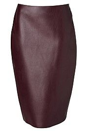 Bonded Pencil Skirt - from Whitchery Work Outfits, Kids Outfits, Autumn Colours, Burgundy, Pencil, Skirts, Clothes, Beautiful, Color