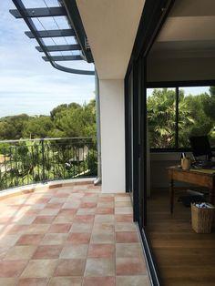 Rénovation d'une maison à Carry-le-Rouet - ACVV ARCHITECTURE - terrasse - baie vitrée - garde corps.