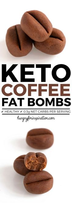 These Easy Chocolatey Coffee Keto Fat Bombs are the perfect Keto Dessert or Keto. These Easy Chocolatey Coffee Keto Fat Bombs are the perfect Keto D. Keto Foods, Best Keto Diet, Keto Fat, Ketogenic Recipes, Low Carb Recipes, Paleo, Protein Recipes, Lchf, Keto Snacks