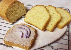 Kukoricalisztes kenyér recept foto Gluten Free Recipes, Bread Recipes, Vegetarian Recipes, Healthy Recipes, Sin Gluten, Ring Cake, Garlic Bread, Free Food, Kenya