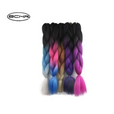 BCHR Jumbo Braids 24'' 100g/Hair For Russian Women Colors Synthetic Braiding Hair. Yesterday's price: US $2.70 (2.20 EUR). Today's price: US $1.11 (0.91 EUR). Discount: 59%.
