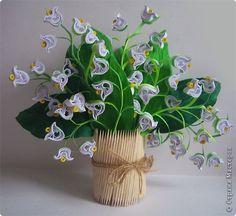 3D Lilies of the Valley arrangement
