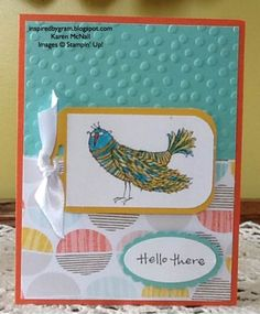 Stampin' Up! Time to Celebrate Hostess Stamp Set using Stampin' Write Markers