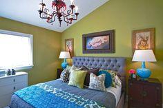 olive green bedroom (denoxa.com)