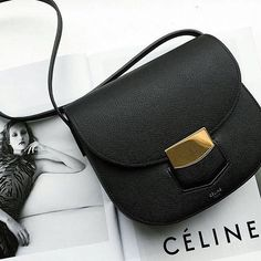 Need a chic cross body bag look no further than the Celine Trotteur available in…