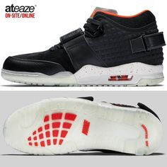 Develop your multifaceted skills in the versatile Nike Air Trainer Victor Cruz training shoes. With a mid-top design for advanced mobility and a Max Air unit for impact protection these training shoes are the perfect addition to your gym bag. Available onsite and online at www.ateaze.com