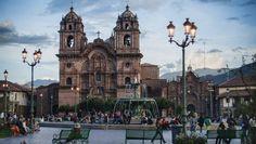 The Plaza de Armas in Cusco, Peru.