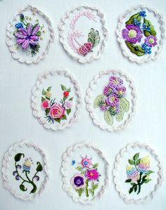 "RosalieWakefield-Millefiori ""Pearls"" from the book ""My LadyFlowers""."