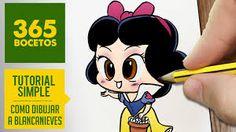 blanche neige Kawaii Disney, Disney Art, Kawaii Doodles, Kawaii Chibi, Coloring Books, Coloring Pages, Disney Princess Toys, Doodle 2, Dibujos Cute