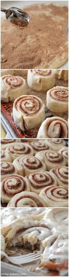 How To Make The Perfect Cinnamon Rolls by Picky Palate!