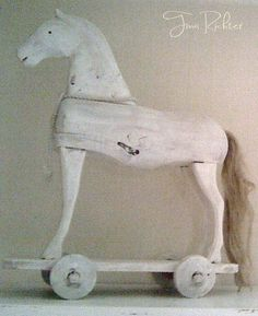 ✿   etsy bluefolkhome says ✿: Nothing like a horse to add style and charm to a…