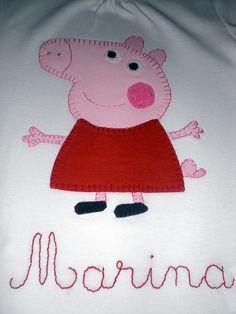 camiseta pepa pig by lasmonadasdelucia, via Flickr                                                                                                                                                                                 Más