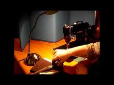 Singer 301 Short Bed Sewing Machine Demo Video