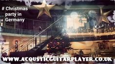 Playing for the Christmas party as part of a few dates in Germany. @ Anders Hotel walsrode, Germany  www.acousticguitarplayer.co.uk
